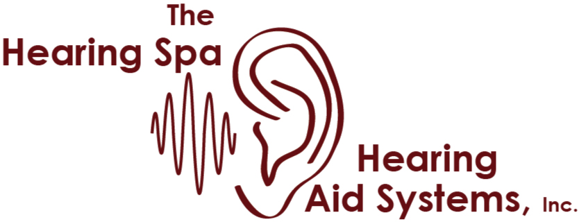 Hearing spa logo for postcard from amy