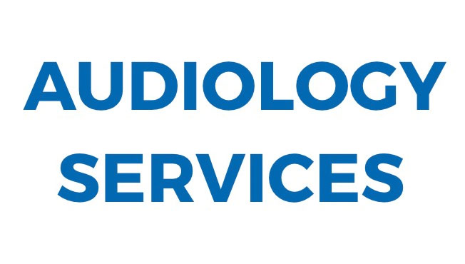 Audiology services centered