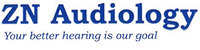 Zn audiology logo words