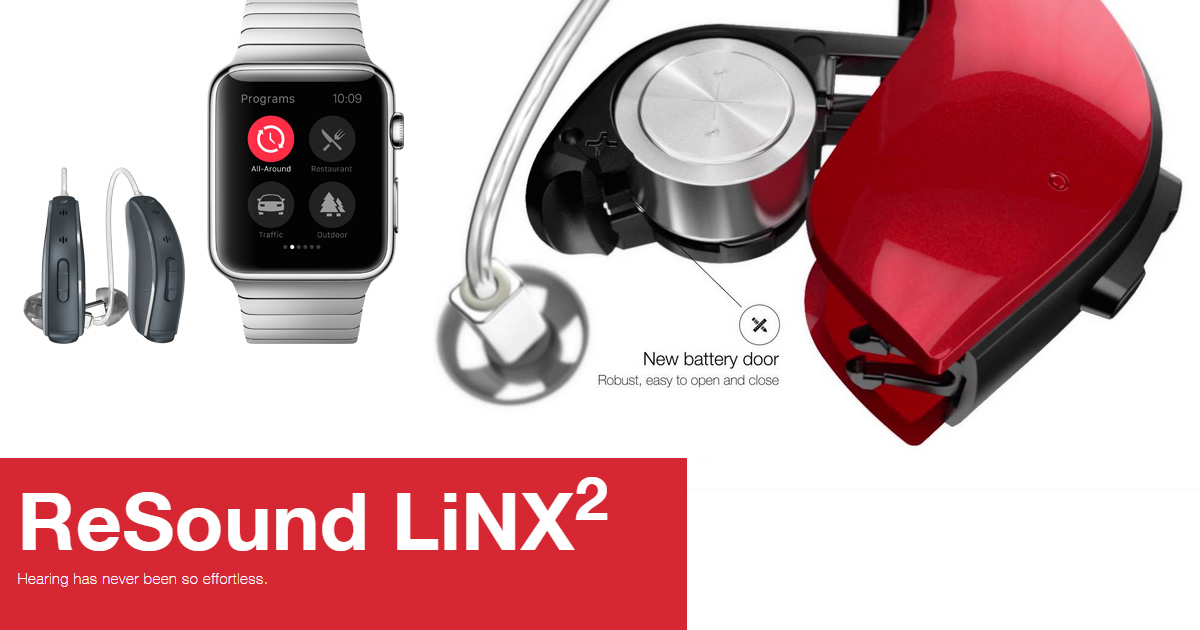 Apple partners with GN ReSound to create LiNX a t