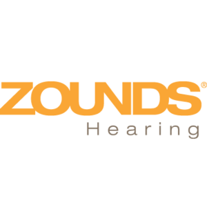 Zounds with hearing logo