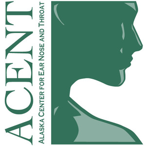 Acent logo green face